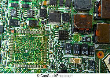 ケイ素 破片, コンピュータ板