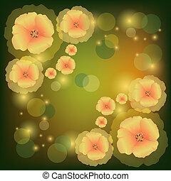 ケシ, 挨拶, 招待, 花, ∥あるいは∥, カード