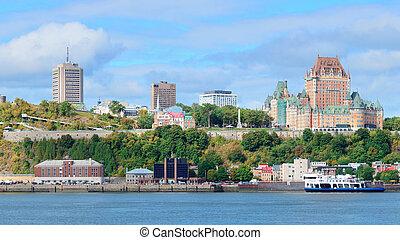 ケベック 都市, スカイライン