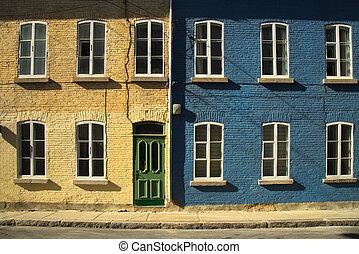ケベック 都市, 家