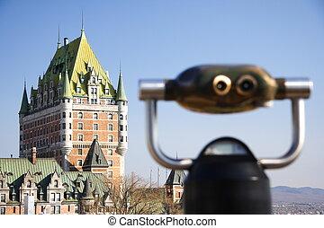 ケベック, city:, 城 frontenac