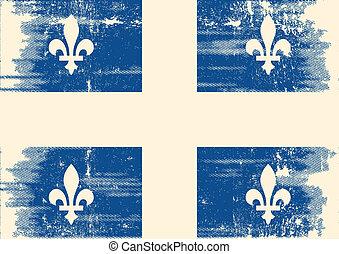 ケベック, flag., グランジ