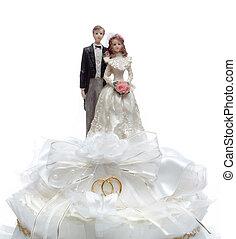 ケーキトップ, 結婚式