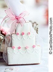 ケーキ, 好意, 結婚式