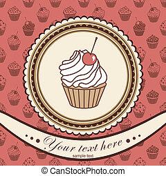 ケーキ, 招待