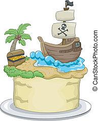 ケーキ, 海賊