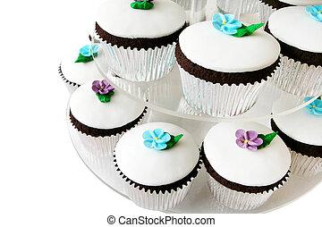 ケーキ, 空想, カップ