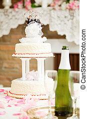 ケーキ, 結婚, -, ゲイである, 結婚式