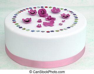 ケーキ, 飾られる