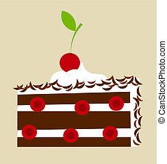 ケーキ, 黒い森林