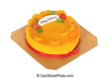 ケーキ, birthday, カラフルである