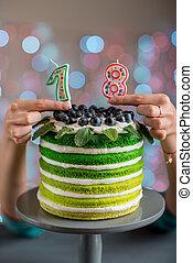 ケーキ, birthday, 幸せ