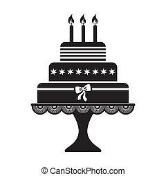 ケーキ, birthday