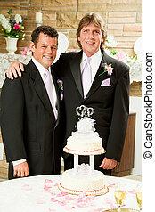ゲイである, レセプション, -, 結婚式, 結婚