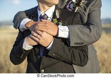 ゲイである, 結婚式