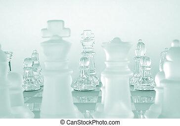 ゲーム, チェス小片