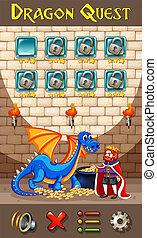 ゲーム, テンプレート, ドラゴン