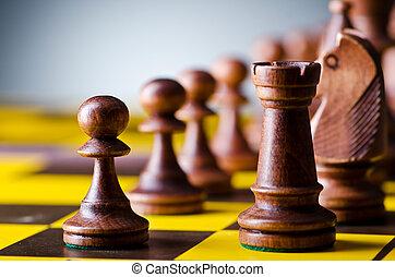ゲーム, 概念, チェス小片