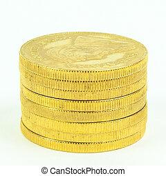 コイン, 金