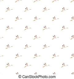 コウノトリ, パターン, seamless