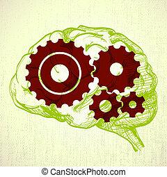 コグ, 脳, 人間