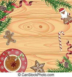 ココア, 暑い, クリスマス祝典