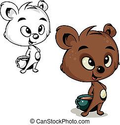 ココア, 熊
