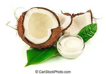 ココナッツ, cocos, 緑は 去る, クリーム
