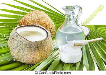 ココナッツ, oil.