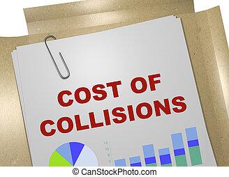 コスト, の, collisions, 概念