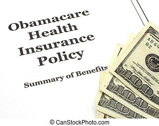 コスト, obamacare, 現金