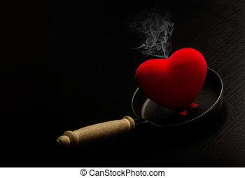 コック, 私, 喫煙, 心