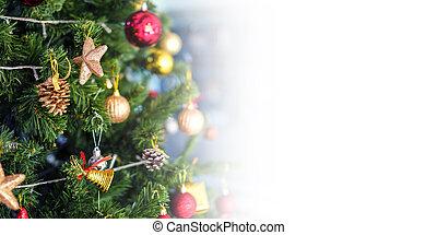 コピースペース, 木, クリスマス