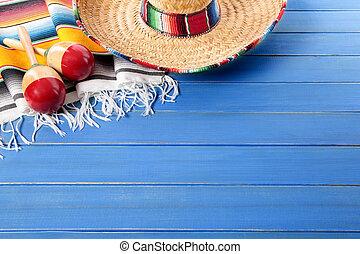 コピースペース, 背景, メキシコ人