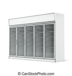 コマーシャル, 冷蔵庫