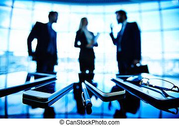コミュニケーション, オブジェクト, ビジネス