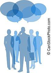 コミュニケーション, シンボル, 概念, ビジネス
