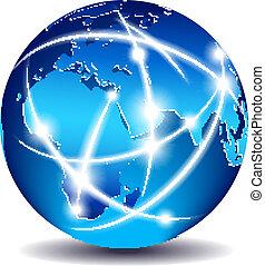 コミュニケーション, 世界的である, 世界, 商業