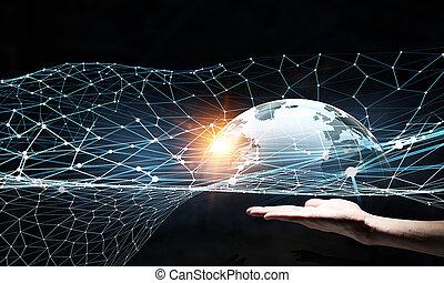 コミュニケーション, 世界的である, 協力