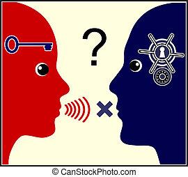 コミュニケーション, 問題, 婚姻である