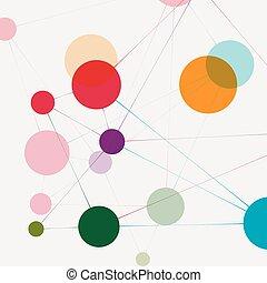 コミュニケーション, 技術, ネットワーク, 背景