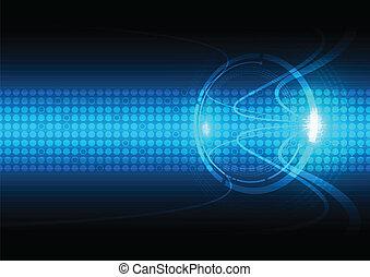 コミュニケーション, 抽象的, 技術, 背景