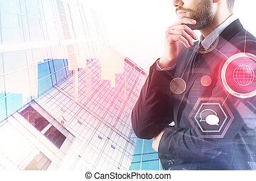 コミュニケーション, 概念, 技術, 金融