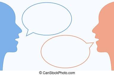 コミュニケーション, 概念, 2人の人々