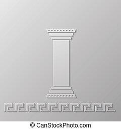 コラム, ギリシャ語