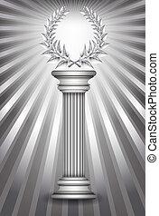 コラム, 月桂樹の冠, 銀, 賞