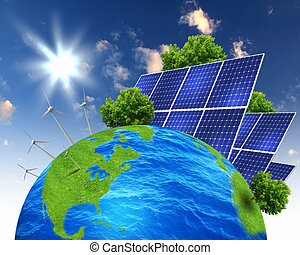 コラージュ, ∥で∥, 太陽, 電池