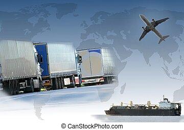 コラージュ, 世界貿易