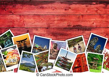 コラージュ, 写真, 日本語
