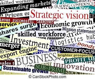 コラージュ, 単語, ビジネス